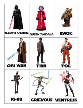 Star Wars Alphabetical Order