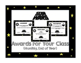 Star Wars Awards (Monthly/End of Year)