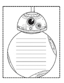 Star Wars BB8 Writing / Book