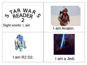 Star Wars- Beginning Reader - Sight Word Reader