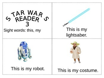 Star Wars- Beginning Reader- Sight Word Reader