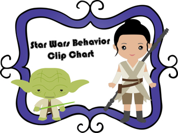 Star Wars Behavior Clip Chart