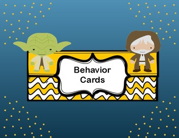 Star Wars Behavior Management Cards