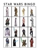 Star Wars Bingo and cards