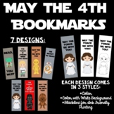 Star Wars Bookmarks May the 4th Be With You