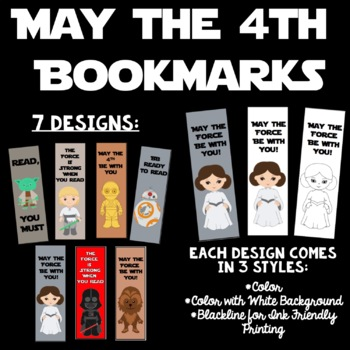 picture about Star Wars Bookmarks Printable known as Star Wars Bookmark Worksheets Instruction Elements TpT