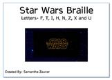 Star Wars Braille File Folder Game