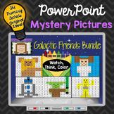 Galactic Friends Bundle Watch, Think, Color Games - EXPANDING BUNDLE