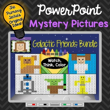 Galactic Friends Bundle Watch, Think, Color Games - EXPAND
