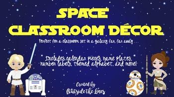 Space Wars Classroom Decor