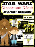Star Wars Classroom Decor ~ Editable {SPANISH VERSION}