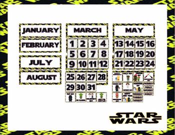 Star Wars Classroom Decor Theme