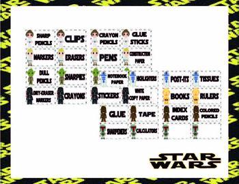 Star Wars Classroom Decor Theme