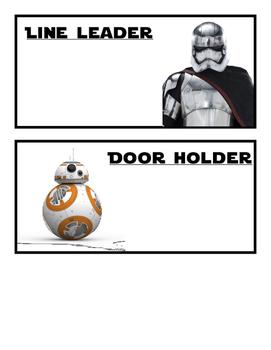 Star Wars Classroom Job