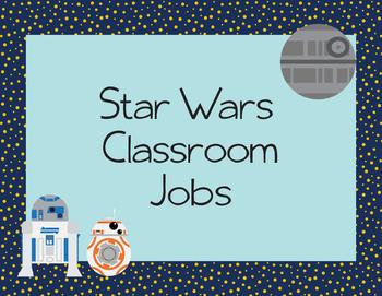 Star Wars Classroom Jobs