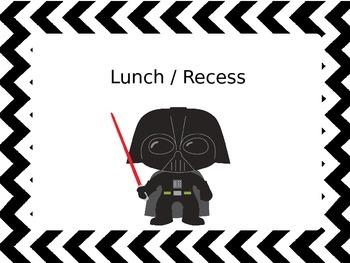 Star Wars Classroom Signs