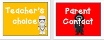 Behavior Clip Chart: Star Wars