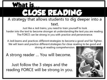 Star Wars Close Reading