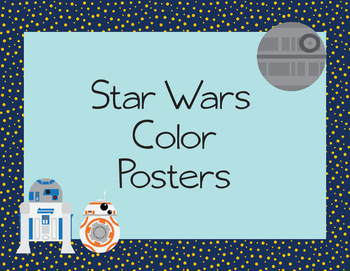 Star Wars Color Posters