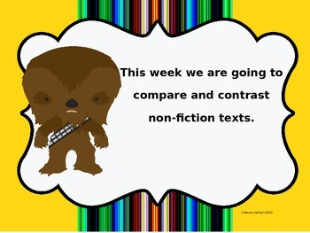 Star Wars Compare and Contrast lesson and practice