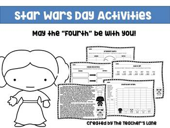 Star Wars Day Activity Packet