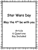 Star Wars Day - May the 4th Be With You - Article - Questions