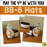 Star Wars Day - May the 4th Be With You - BB8 Hat