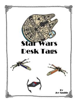 Star Wars Desk Tags