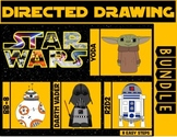 Star Wars Directed Drawing & Writing Prompts BUNDLE