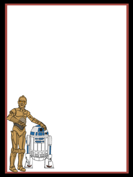 Star Wars Droid Stationary