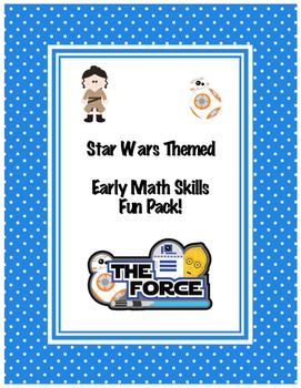 Star Wars Themed Early Math Skills Fun Pack