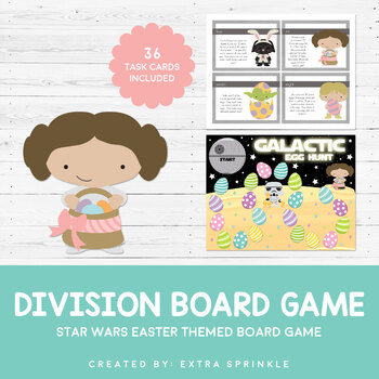 Star Wars Inspired Easter Division Board Game