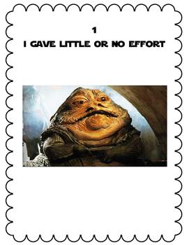 Star Wars Effort Rubric