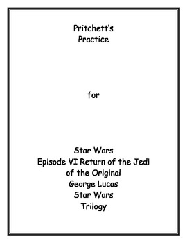 Star Wars Episode VI Return of the Jedi Archetype Lesson Plan and Study Guide