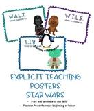 Star Wars Explicit Teaching Posters #AUSBTS18