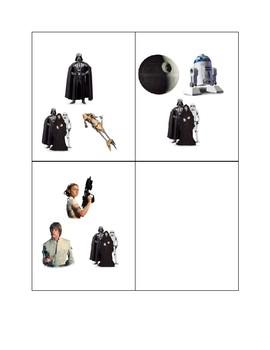 "Star Wars ""Find-It-Fast!""- Tot Edition"
