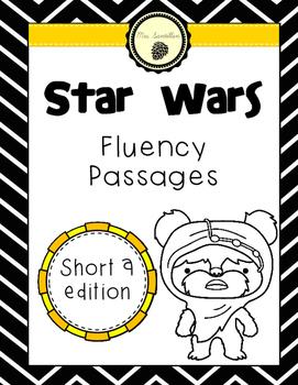 Star Wars Fluency Passages- Short A Edition *Freebie*