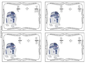 Star Wars Fraction Addition (Unlike Denominators)