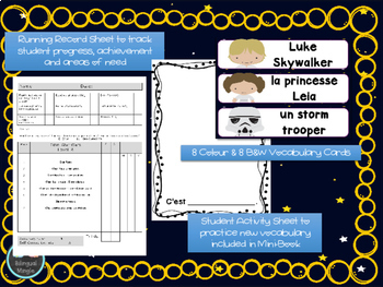 Star Wars French Reader, Vocabulary Cards & Reading Assessment