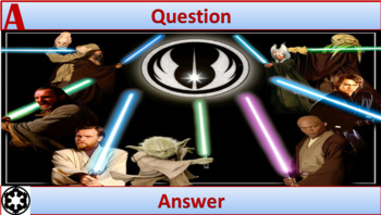 Star Wars Fun Review Game Template