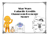 Star Wars Galactic Credits Classroom Economy Money