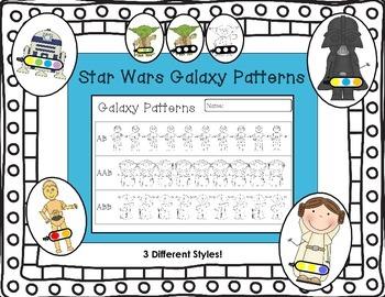 Star Wars Galaxy Patterns