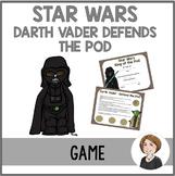Star Wars Game 3- Darth Vader Defends the Pod