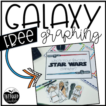 May the Fourth Be With You Graphing Activity and Party Labels