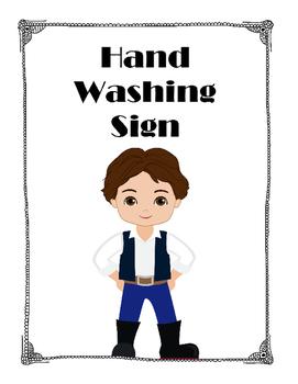 Star Wars: Hand Washing Poster