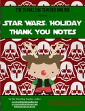 Star Wars© Holiday Thank You Cards FREEBIE!