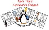 #AUSBTS18 Star Wars Homework Passes