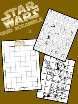 Star Wars Image Scramble #2 - Busy / Sub Work - Han Solo