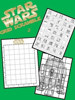 Star Wars Image Scramble #3 - Busy / Sub Work - R2-D2