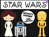 Star Wars Inspired Activity Posters (May the Fourth Be With You)
